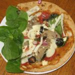 Gourmet Flat Out Flatbread Pizza