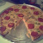 H20 Goddess' Oopsie Pizza