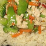 Zippy Chinese Chicken Stir-Fry