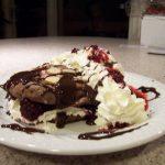 Shadowzip's Chocolate Almond Oopsies with Blackberry Garnish