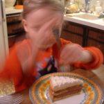 Vesna's Oopsie Birthday Cake