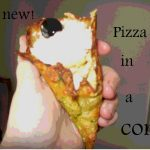 Do you love PIZZA.. how about pizza in a cone???