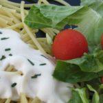 Soy Flour Spaghetti