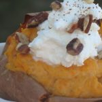 Low-carb Twice-Baked Yams with Pumpkin
