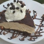 Mud Pie Cheesecake slice