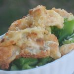 Parmesan crusted shrimp