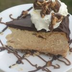 Peanut butter cheesecake slice 2