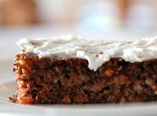 Atkins carrot cake recipe