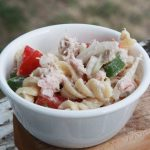 Grilled Tuna Pasta Salad