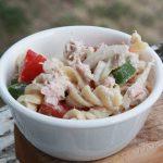 Grilled Tuna Pasta Salad