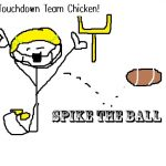 touchdown chicken