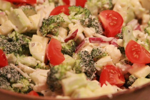 Parmesan Vegetable Salad Your Lighter Side