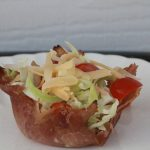 Chef Salad Ham Cups