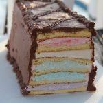 Spring Layered Sponge Cake