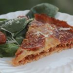 Gluten free stuffed pizza!