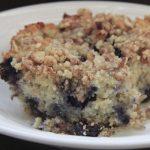 Better Buttery Blueberry Buckle Recipe