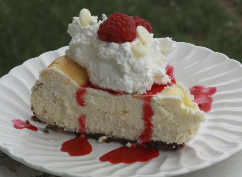 Related to White Chocolate Raspberry Cheesecake Recipe - Allrecipes ...
