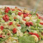 Cauliflower Crust Pizza {Gourmet Vegetarian Style}