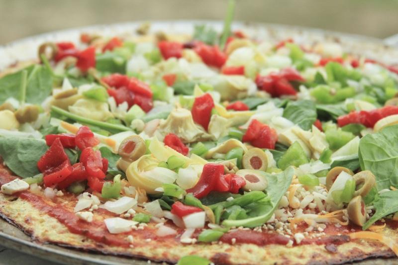 Loaded Cauliflower Pizza