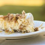 Sugar-Free, Gluten-Free Caramel Apple Cheesecake