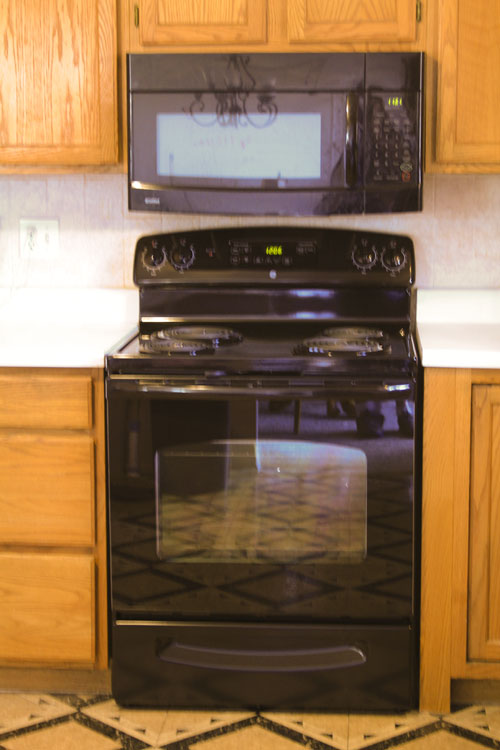 New oven