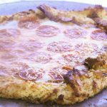 Gluten-Free Cheese in the Crust Pizza