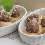 Quick Microwave Stuffed Mushroom Caps