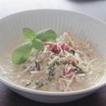 Turkey and Daikon Crock Pot Chowder