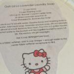 Ooh La La Lavender Laundry Soap