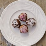 Low-Carb Raspberry Chocolate Macaroons