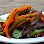 Healthy Sautéed Venison with Peppers