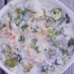 Cheesy Veggie Delish Dish!