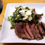 Father's Day Steak and Salad