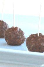 Beef Burgundy Meatballs